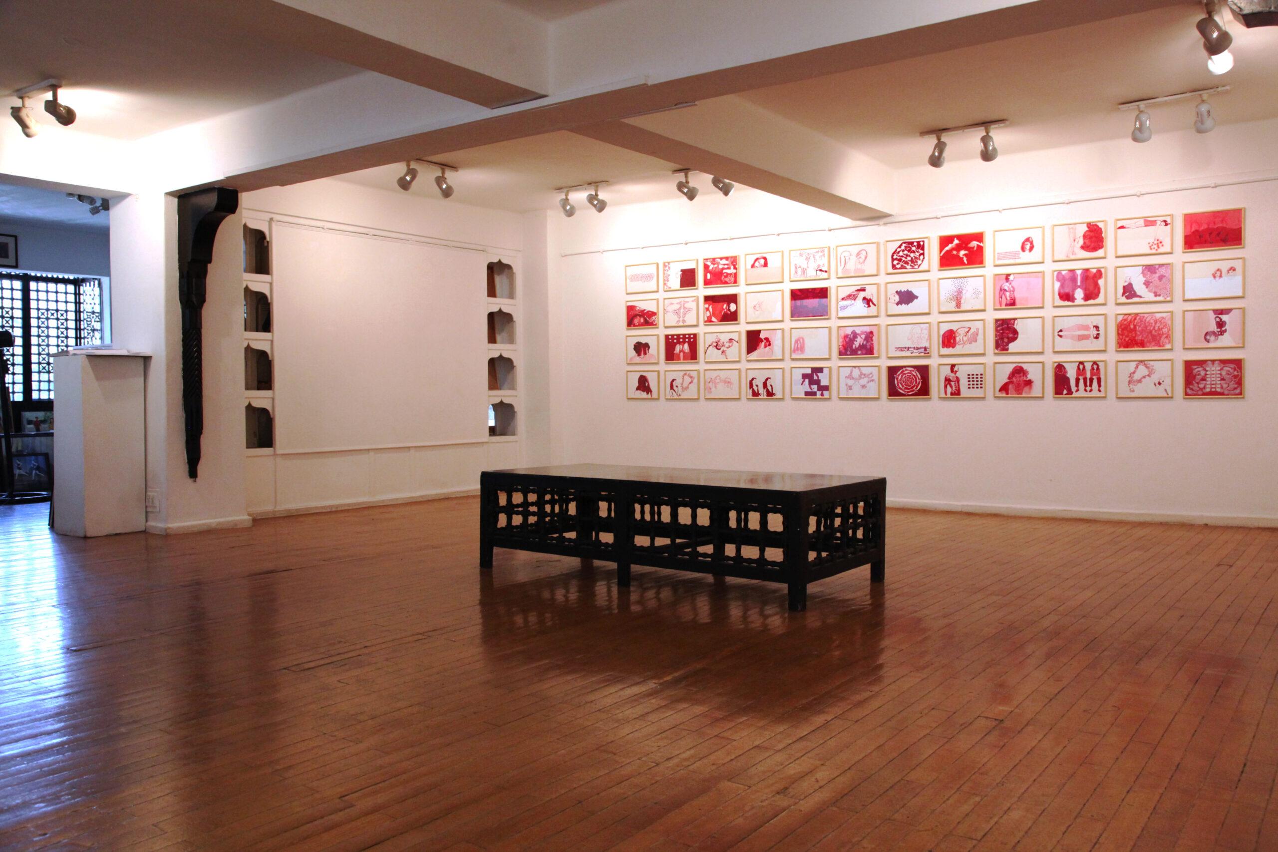 """Ausstellung """"Identities"""" Mashrabia Gallery, Kairo Ägypten"""